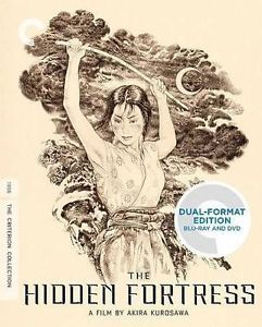 The Hidden Fortress Blu Ray DVD Criterion Collection Akira Kurosawa 715515113212