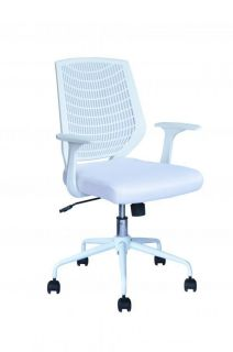 black ergonomic mesh computer office desk task midback task chair