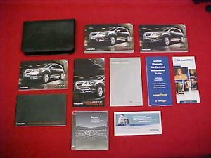 2013 Original Acura MDX Owners Manual Service Guide 13 w Navigation Case CD DVD
