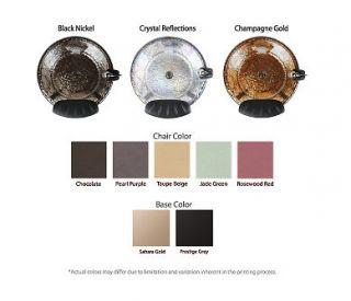 Lenox SE Salon Pedicure Spa Pipeless Whirlpool Pedicure System w Glass Bowl