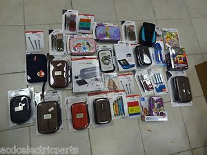 Big Lot of Nintendo 3DS DSi DS Accessories Lot Game Case Stylus Car Chargers Kit
