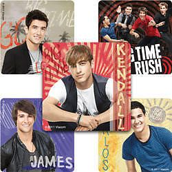 15 Big Time Rush Stickers Kids Party Treat Loot Bags Favors Supply Nickelodeon
