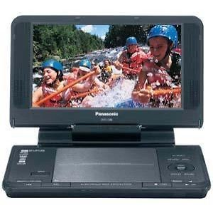 "Panasonic DVD LS86 Portable DVD Player 8 5"" with 8600mAh Li ion Battery"