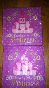 Disney Princess Sofia Sophia Birthday Party Supplies Dinner Lunch Napkins 32