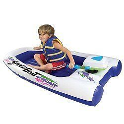 Excalibur Motorized Inflatable Speed Boat