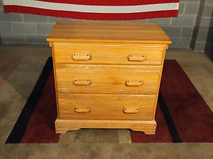 Solid Oak Ranch Oak Chest of Drawers Brandt Furniture Texas Theme