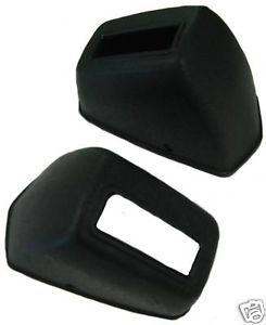 1965 70 Chevrolet Chevelle Deluxe Seat Belt Retractor Covers Pair RCF 300