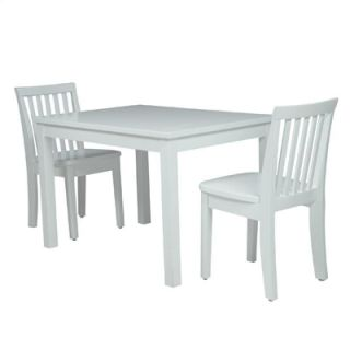 John Thomas Juvenile White Rectangular Table JT08 2532 No Chairs
