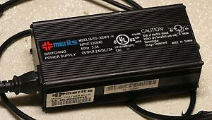 Merits Charger Power Supply Model SA1F0 3050V1 H 120VAC Scooter Wheelchair w Plu