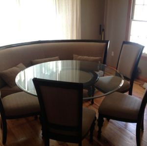 Swell Schnadig Kingston Dining Room Table W 4 Chairs And Wrap Machost Co Dining Chair Design Ideas Machostcouk