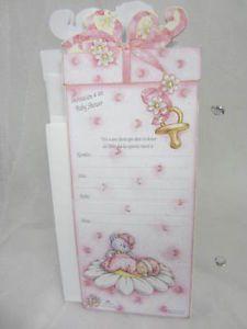 Baby Shower Spanish 12 Invitations Party Supplies Invitacion A MI Baby Shower