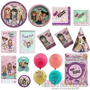 Bratz Kidz Birthday Party Supplies Pick Only What You Need Create Your Set