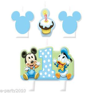 Mickey Mouse St Birthday Cake Candle