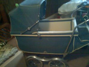 Vintage Baby Carriage Buggy Stroller by Strollo Chair Full Size