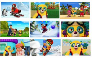 18 Special Agent Oso Stickers Loot Treat Gift Favor Gift Bag Fillers Party