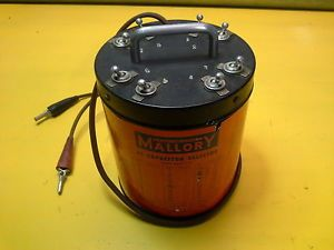 Mallory Vintage Electric Motor Start Tester Capacitor Selector MSS 101 Used