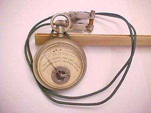 Antique 1912 Dry Cell Battery Tester Western Electric