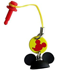 Disney Smart iPhone 5 Anti Dust Earphone Plug Stopper Cap Mickey Mouse Ears