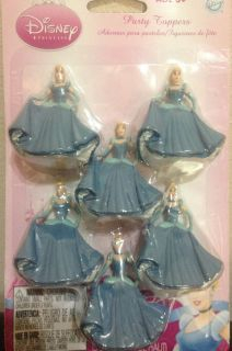 Disney Princess Birthday Party Cinderella Cake Toppers Party Favors Free SHIP