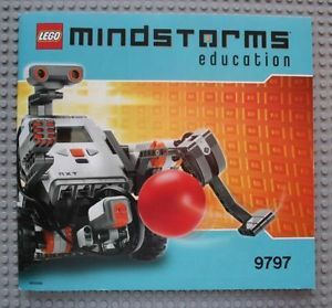 Lego Mindstorms User Guide NXT Educational Set 9797