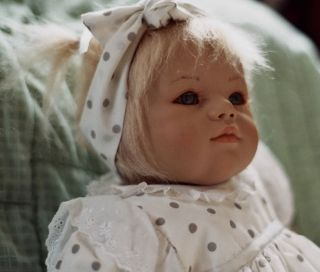 Annette Himstedt Baby Annchen Doll Beautiful w COA Box Clothes RARE Brochure
