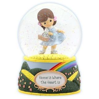 Precious Moments Gift Musical Water Globe Dorothy Wonderful Wizard oz Snow Dome