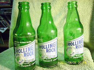 Vintage Rolling Rock Bottle