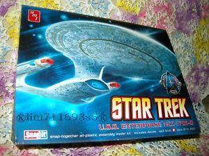 Star Trek USS Enterprise NCC 1701 D Model Kit