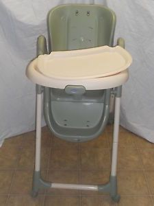 Bon Graco Meal Time Highchair Baby Infant Toddler Child No Pad No Straps  3B04DEN ...