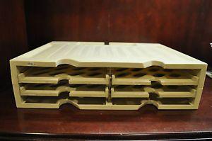 Paper Sorter Organizer Book Divider Office Desk File Folder Holder Rack