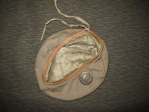 French Foreign Legion FFL Beret and Badge Airborne Troops Algerian War Period