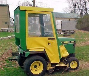 John Deere Lawn Tractor Winter Enclosure Cab 314 316 317 318 322 330 332 No Res