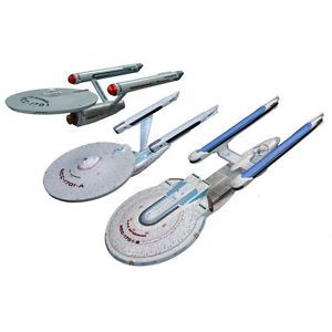 Star Trek USS Enterprise 3 Starship Set AMT 660 1 2500 Scale Model Kits