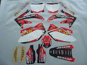 Honda CRF 450 2005 2008 Flu Designs Par Honda Graphic Kit Backgrounds 70045