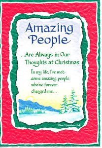 Blue mountain arts greeting card christmas amazing people m4hsunfo Image collections