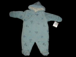 Snowsuit Used Baby Boy 3 6 Months Fall Winter Outer Suit Clothes Lot