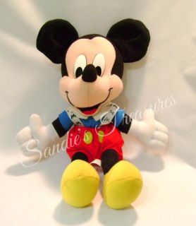 """Collectible 13"""" Walt Disney Baby Mickey Mouse Plush Toy"""