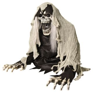 Wretched Reaper Animated Fog Prop Haunted House Decor Halloween Realistic Scary