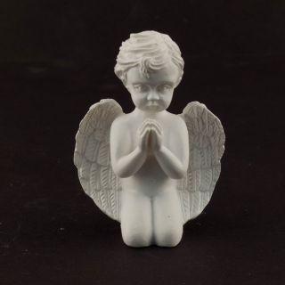 Ceramic Praying Cherub Angel Figures Statue Favor 12pcs
