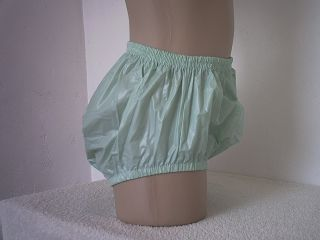 Full Cut Unisex PVC Plastic Pants s Green