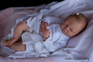 RARE Long Sold Out Reborn Baby Doll Kit Meagan by Heike Kolpin Mimadolls Low RSV
