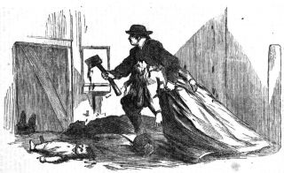 Antoine Probst Deering Family Murderer Taken Within 5 Years of Death 1866 ID'D