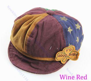 Cute Baby Toddler Infant Boys Girls Newsboy Mixed Color Baseball Cap Beanie Hat
