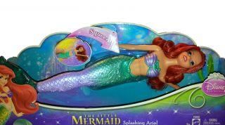 Disney Princess Swimming Mermaid Ariel Doll Toy