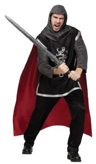 Medieval Knight Renaissance Adult Mens Costume Tunic Gallant Dashing Halloween