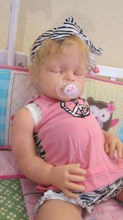 Reborn Sleeping Arianna Reva Schick Toddler Baby Doll Boy Girl Big Full Limbs