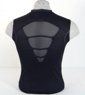 "Nike Pro Combat Dri Fit ""Beast"" Black Sleeveless Compression Shirt Mens"