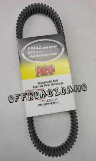 Ultimax Pro Ski Doo Snowmobile Belt Legend H O 600 SDI 2004 140 4352U4 04