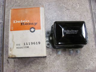 65 66 67 Corvair Voltage Regulator A C Delco 1119619 Dated 6F June 45 Amp