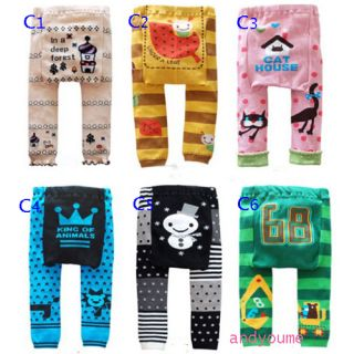 Hot Baby Infant Boy Girl Animal PP Pants Leggings Tights Trousers Warmer Socks